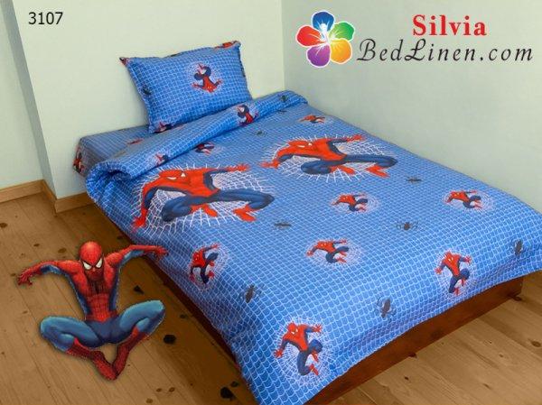 Детски спален комплект хасе Спайдърмен - голям